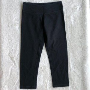 Lululemon Black Crop Soft Leggings